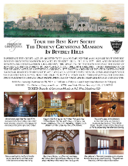 Greystone Mansion Tour Nov 11